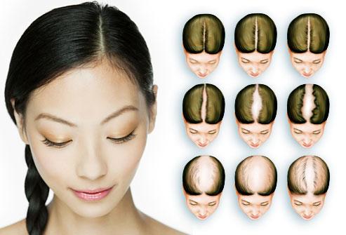 Le masque pour les cheveux la ligne propre le volume les rappels