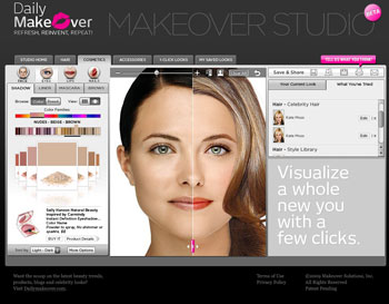 3 Sites De Relooking Virtuel Gratuit En Ligne Coiffure Et Maquillage